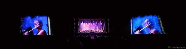 ORSOphilharmonic mit Sound of Cinema beim Festival-Vents-d-Est mit Wassershow bei Art et Lumière 2017 in Furdenheim