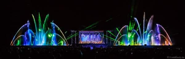 ORSOphilharmonic mit Sound of Cinema beim Festival-Vents-d-Est mit Wassershow und Laser bei Art et Lumière 2017 in Furdenheim