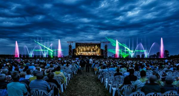 Straßburger Jugendsinfonieorchester beim Festival-Vents-d-Est bei Art et Lumière 2017 in Furdenheim