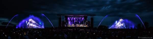 Konzert mit Patricia Kaas beim Festival-Vents-d-Est bei Art et Lumière 2017 in Furdenheim