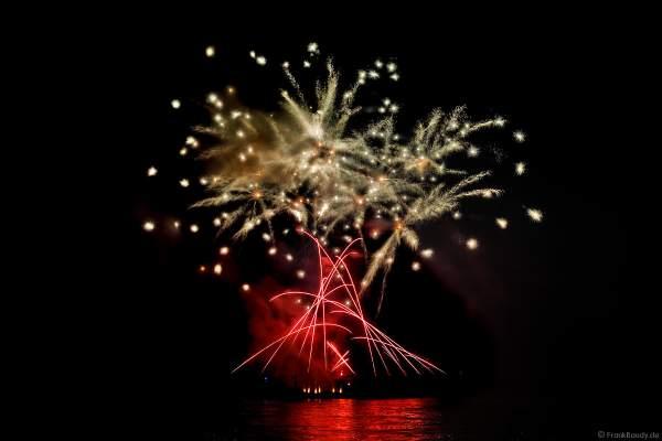 Rhein in Flammen 2017 in Oberwesel mit Feuerwerk SWINGING STARS zur Filmmusik La La Land von Justin Hurvitz