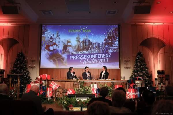 Pressekonferenz Winter 2017/2018 im Europa-Park