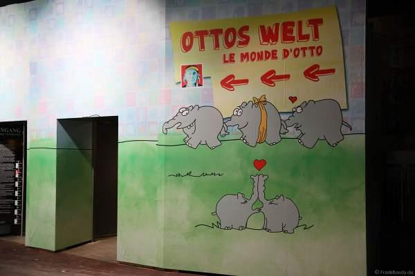 Bilderausstellung von Otto Waalkes im Europa-Park zur Wintersaison 2017/2018
