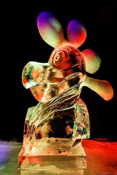 """Eisskulpturen Ausstellung """"MAGIC ICE – Ed & Eddas magische Märchenwelt"""" im Europa-Park zur Wintersaison 2017/2018"""
