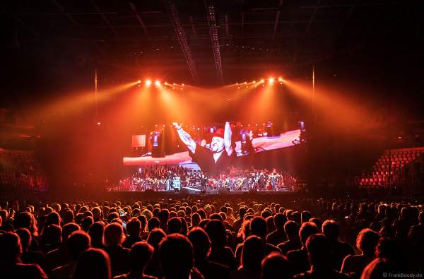 Culcha Candela mit Johnny Strange, Don Cali, DJ Chino und Itchy (Mateo Jasik) bei Night of the Proms 2017 in der SAP Arena Mannheim