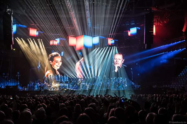 Pianistin Emily Bear mit John Miles bei Night of the Proms 2017 in der SAP Arena Mannheim