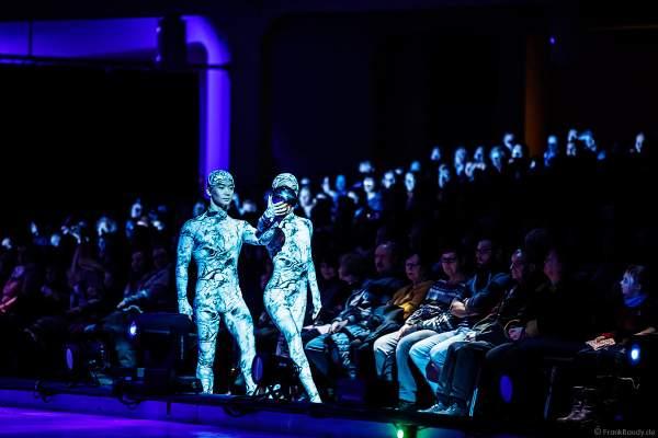 Tim Yang und Taisia Bondarenko bei der Eisshow ATLANTIS von Holiday on Ice in der Festhalle Frankfurt und SAP Arena Mannheim 2017-2018