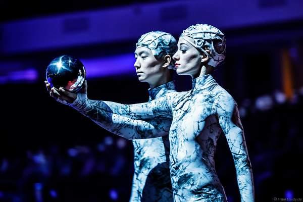 Tim Tang und Taisia Bondarenko bei der Eisshow ATLANTIS von Holiday on Ice in der Festhalle Frankfurt und SAP Arena Mannheim 2017-2018
