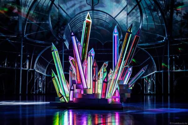 Der leuchtende Kristall bei der Eisshow ATLANTIS von Holiday on Ice in der Festhalle Frankfurt und SAP Arena Mannheim 2017-2018