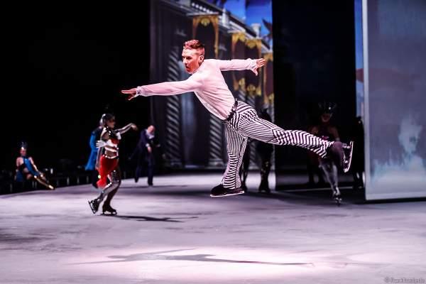 Matti Landgraf bei der Eisshow ATLANTIS von Holiday on Ice in der Festhalle Frankfurt und SAP Arena Mannheim 2017-2018