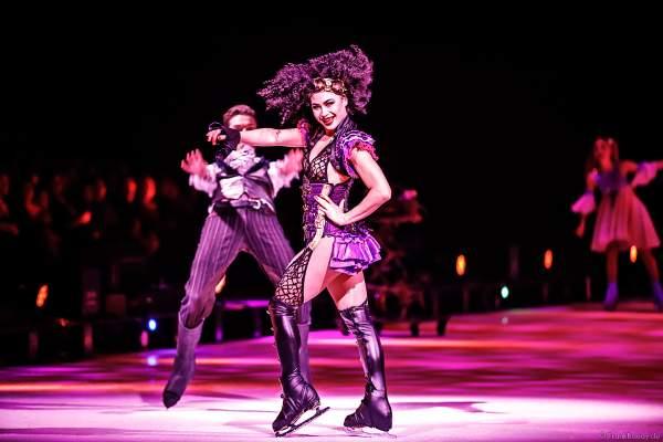 Cari Maus bei der Eisshow ATLANTIS von Holiday on Ice in der Festhalle Frankfurt und SAP Arena Mannheim 2017-2018