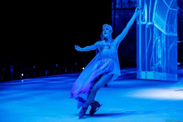 Giulia Isceri bei der Eisshow ATLANTIS von Holiday on Ice in der Festhalle Frankfurt und SAP Arena Mannheim 2017-2018