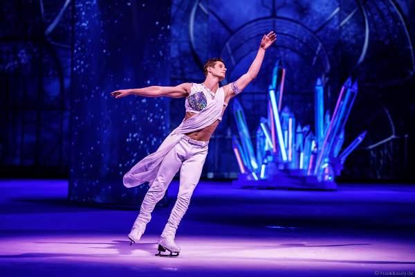 Eisläufer und Model Wesley Campbell bei derEisshow ATLANTIS von Holiday on Ice in der Festhalle Frankfurt und SAP Arena Mannheim 2017-2018
