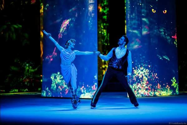 Mariya Kayl und Alexey Shumsky bei der Eisshow ATLANTIS von Holiday on Ice in der Festhalle Frankfurt und SAP Arena Mannheim 2017-2018