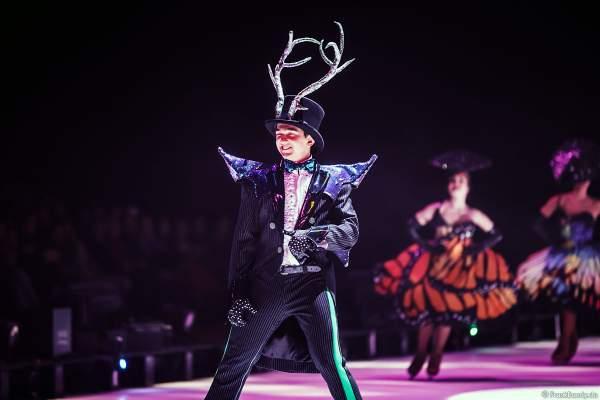 Wiktor Witkowski bei der Eisshow ATLANTIS von Holiday on Ice in der Festhalle Frankfurt und SAP Arena Mannheim 2017-2018
