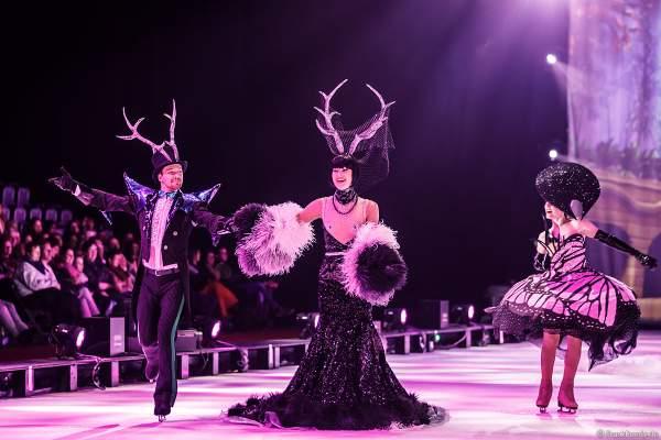 Alexey Shumsky und Giulia Isceri bei der Eisshow ATLANTIS von Holiday on Ice in der Festhalle Frankfurt und SAP Arena Mannheim 2017-2018