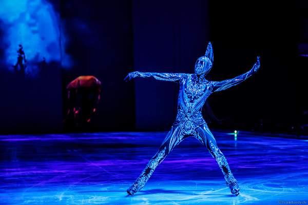 Das Glitzerkostüm bei der Eisshow ATLANTIS von Holiday on Ice in der Festhalle Frankfurt und SAP Arena Mannheim 2017-2018