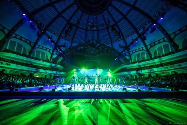 Die bunte Welt der Glitzerkostümen bei der Eisshow ATLANTIS von Holiday on Ice in der Festhalle Frankfurt und SAP Arena Mannheim 2017-2018