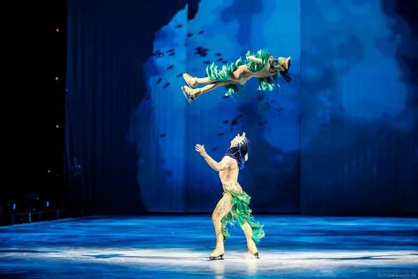 Matti Landgraf und Caydee Denney bei der Eisshow ATLANTIS von Holiday on Ice in der Festhalle Frankfurt und SAP Arena Mannheim 2017-2018