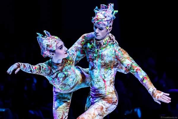 Mariya Kayl und Thomas Rochelet bei der Eisshow ATLANTIS von Holiday on Ice in der Festhalle Frankfurt und SAP Arena Mannheim 2017-2018