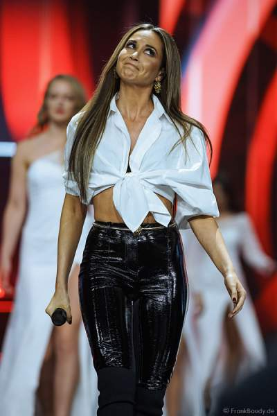 Mandy Grace Capristo beim Miss Germany 2018 Finale in der Europa-Park Arena am 24.02.2018