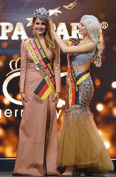 Die Krönung der Miss Germany 2018 - Anahita Rehbein in der Europa-Park Arena am 24.02.2018