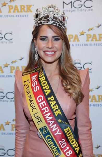 Die Gewinnerin der Miss Germany 2018 Wahl: Anahita Rehbein
