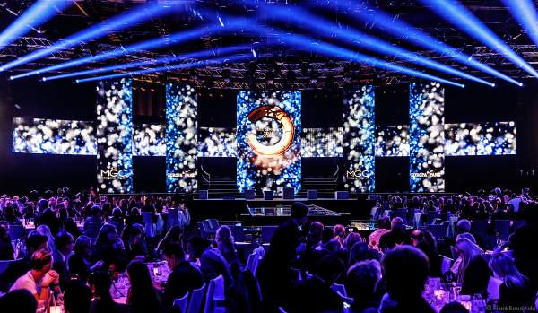 Der festliche Saal beim Miss Germany 2018 Finale in der Europa-Park Arena am 24.02.2018