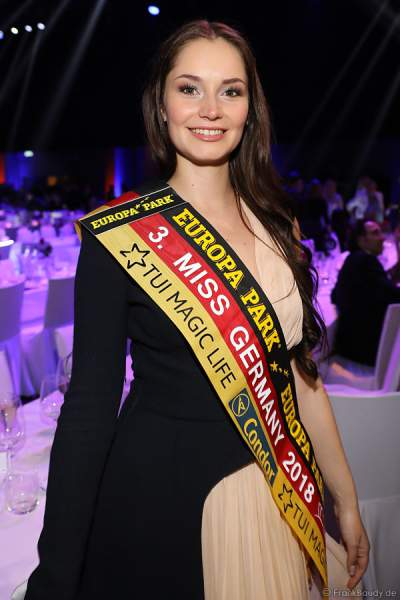 3. Miss Germany 2018 Sarah Deborah Zahn (Miss Bayern 2018) beim Miss Germany 2018 Finale in der Europa-Park Arena am 24.02.2018