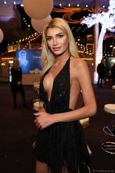 Guiliana Farfalla (Pascal Radermacher) - deutsches transsexuelles Model und eine Reality-TV-Teilnehmerin beim Miss Germany 2018 Finale in der Europa-Park Arena am 24.02.2018