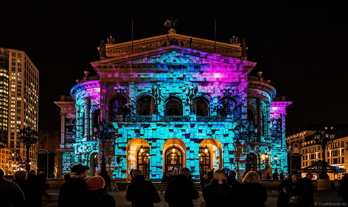 Die alte oper im wandel der zeit bei der luminale seitenstopper for Lichtmesse frankfurt