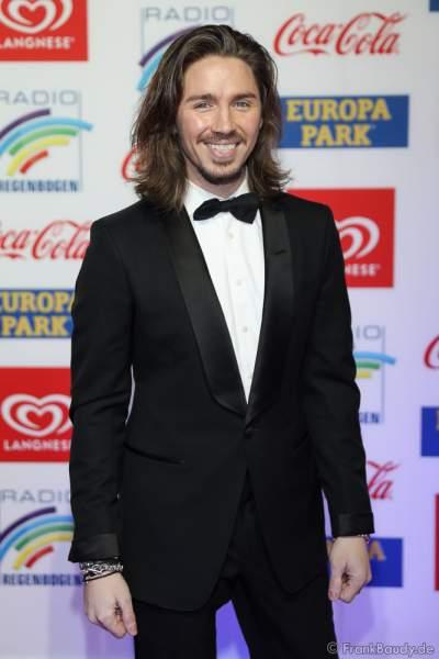 Gil Ofarim (Gil Doron Reichstadt) auf dem roten Teppich beim Radio Regenbogen Award 2018 am 23. März in der Europa-Park Arena in Rust