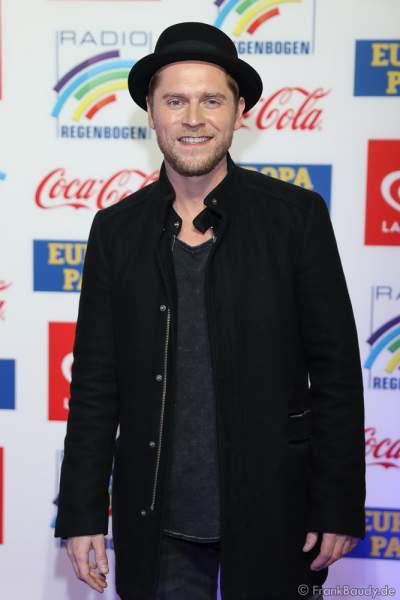 Johannes Oerding beim Radio Regenbogen Award 2018 am 23. März in der Europa-Park Arena in Rust