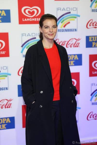 Yvonne Catterfeld beim Radio Regenbogen Award 2018 am 23. März in der Europa-Park Arena in Rust