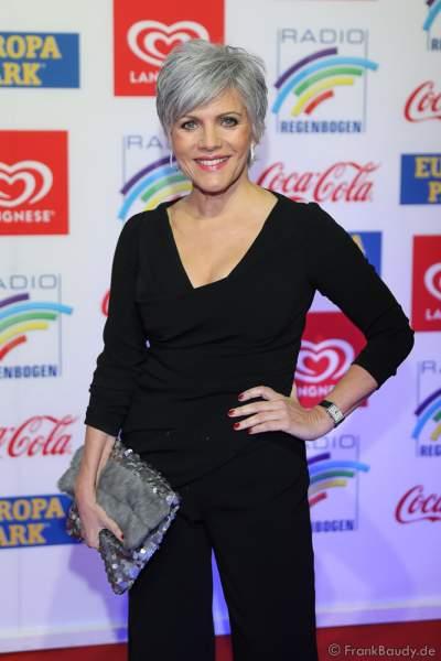 Birgit Schrowange beim Radio Regenbogen Award 2018 am 23. März in der Europa-Park Arena in Rust
