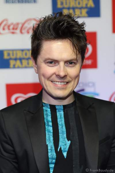 Michael Patrick Kelly beim Radio Regenbogen Award 2018 am 23. März in der Europa-Park Arena in Rust