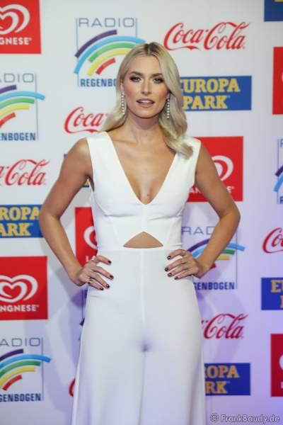 Lena Johanna Gercke beim Radio Regenbogen Award 2018 am 23. März in der Europa-Park Arena in Rust
