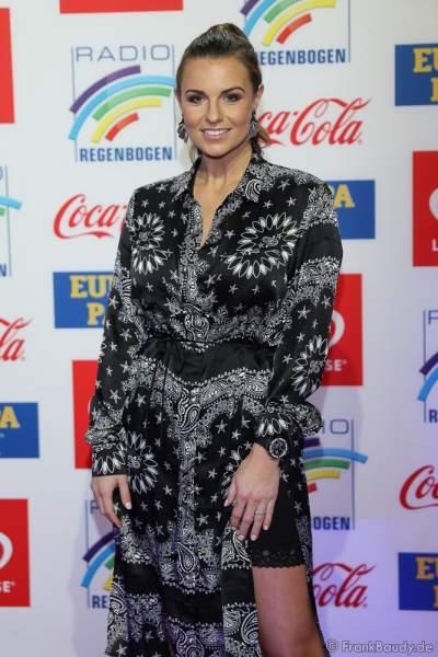Laura Wontorra beim Radio Regenbogen Award 2018 am 23. März in der Europa-Park Arena in Rust