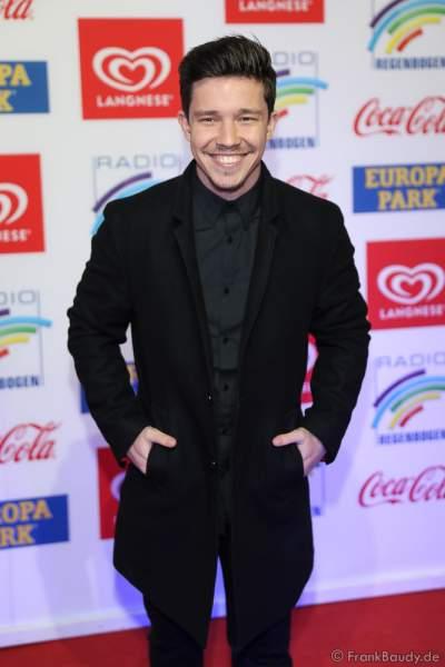Nico Santos (Nico Wellenbrink) beim Radio Regenbogen Award 2018 am 23. März in der Europa-Park Arena in Rust