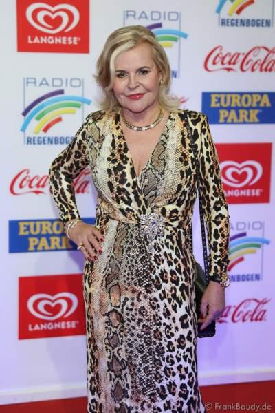 Tessy Pavelkova beim Radio Regenbogen Award 2018 am 23. März in der Europa-Park Arena in Rust