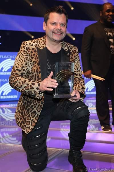 Ingo Appelt beim Radio Regenbogen Award 2018 am 23. März in der Europa-Park Arena in Rust