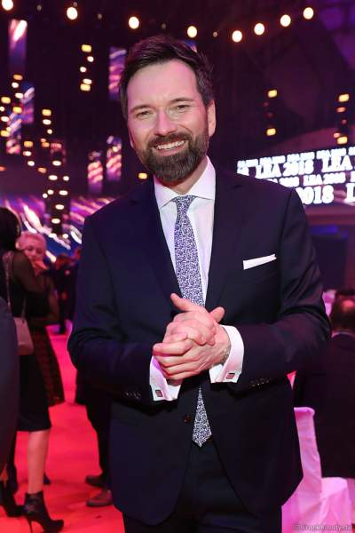 Ingo Nikolaus Reinhard Werner Nommsen auf der After-Show-Party beim PRG Live Entertainment Award (LEA) 2018 in der Festhalle in Frankfurt