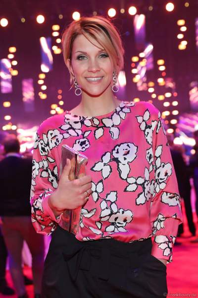 Anna-Maria Zimmermann auf der After-Show-Party beim PRG Live Entertainment Award (LEA) 2018 in der Festhalle in Frankfurt