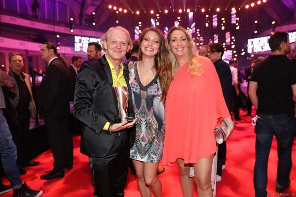 BB Promotion GmbH bekommt den PRG Live Entertainment Award (LEA) 2018 als Veranstalter des Jahres 2017 in der Festhalle in Frankfurt