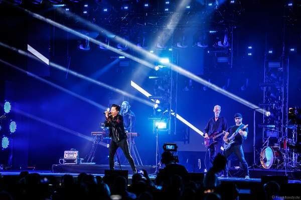 Bühnenauftritt von Michael Patrick Kelly beim PRG Live Entertainment Award (LEA) 2018 in der Festhalle in Frankfurt
