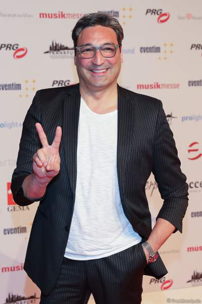 Mousse T. (Mustafa Gündogdu) beim PRG Live Entertainment Award (LEA) 2018 in der Festhalle in Frankfurt