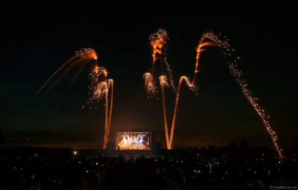 Steigende Kronen beim Open Air Festival Vents d'Est (Ostwindfestival) 2018