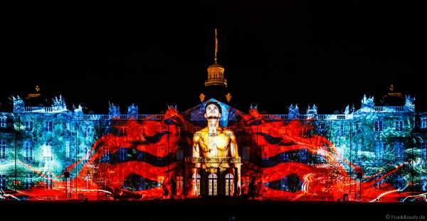 Lichtshow I´MMORTAL von Maxin10sity bei den Schlosslichtspielen in Karlsruhe 2018