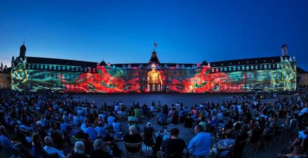 3D Video Mapping I´MMORTAL von Maxin10sity bei den Schlosslichtspielen in Karlsruhe 2018