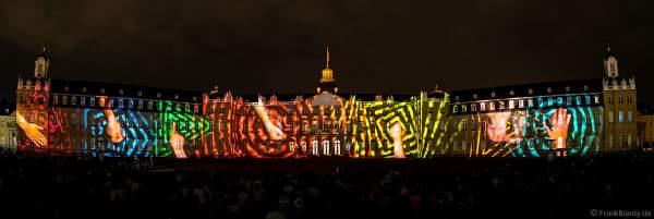 Licht- und Klangshow HANDS-ON von Jonas Denzel bei den Schlosslichtspielen in Karlsruhe 2018
